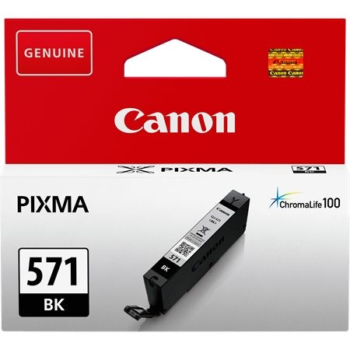 Canon CLI-571BK eredeti fekete tintapatron, ~376 oldal (cli571 vékony fekete)