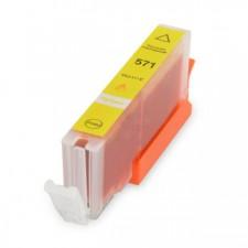 Canon utángyártott CLI-571XL Y (sárga) CHIPES  tintapatron (cli571xl)