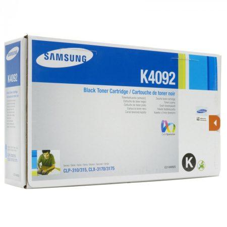Samsung CLP310 fekete eredeti toner 1,5K (CLT-K4092S) (≈1500 oldal, CLP315)