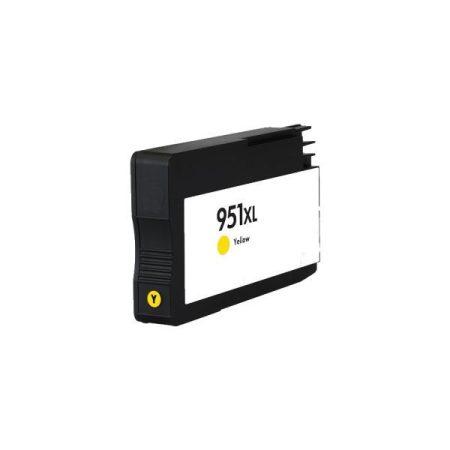 HP 951XL utángyártott sárga tintapatron CN048A
