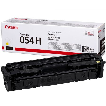 Canon CRG-054H eredeti sárga toner, 2300 oldal ( crg054 )