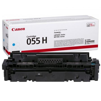 Canon CRG-055H eredeti cián toner, 5900 oldal ( crg055 )