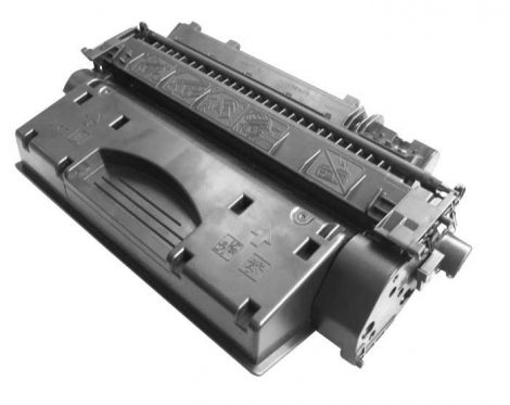 Canon CRG719 utángyártott toner,  (CRG-719, CE505A)