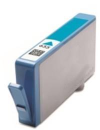 HP-hez utángyártott CZ110AE tintapatron cián Nr.655