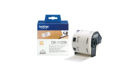 Címkenyomtató etikett szalag (DK Label), 62 mm x 29 mm, öntapadó, Brother (DK-11209)