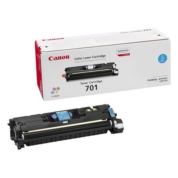 Canon EP-701C eredeti cyan toner, 4000 oldal (ep701)