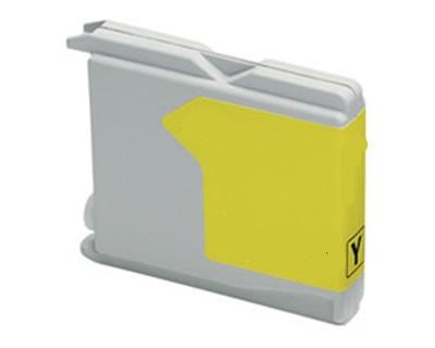 Brother utángyártott LC1000 Y (sárga)  tintapatron LC970