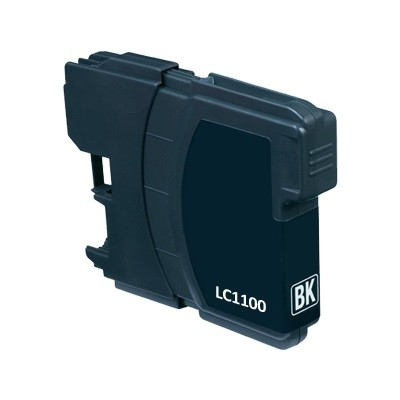 Brother LC980/LC1100 BK utángyártott tintapatron kb.≈: 450 oldalas