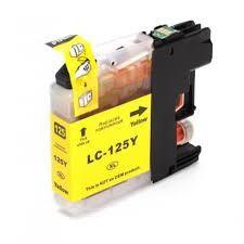 Brother utángyártott LC125XL sárga tintapatron