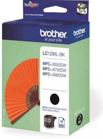 Brother LC129 XL Bk (fekete) eredeti tintapatron