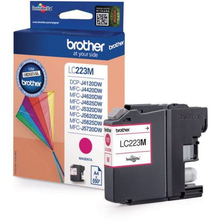 Brother LC223 M (magenta) eredeti tintapatron