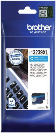 Brother LC3239xl C (cián) eredeti nagy kapacitású tintapatron (~5000 oldal)