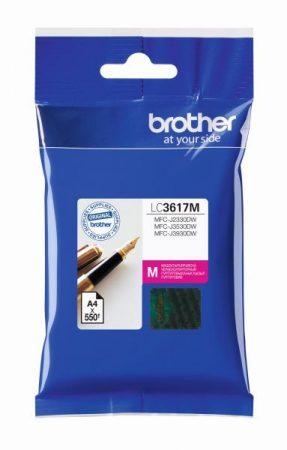Brother LC3617 M (magenta) eredeti tintapatron (~550 oldal)