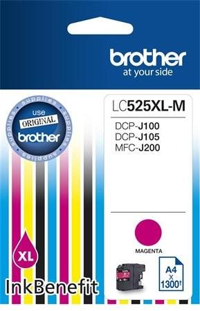 Brother LC525XL magenta eredeti tintapatron