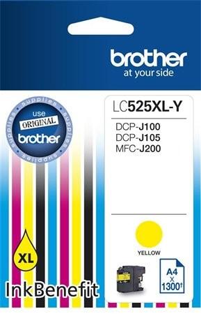 Brother LC525xl sárga eredeti tintapatron