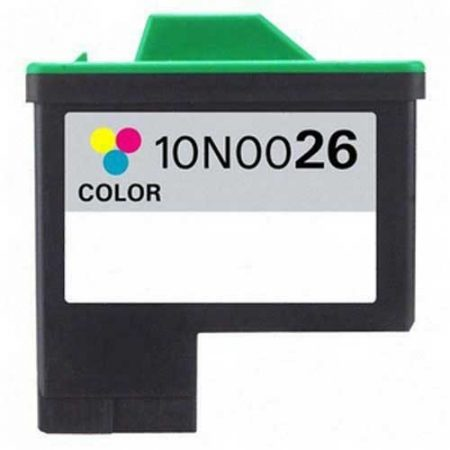 Lexmark -hoz Nr.26 (10N0026E) utángyártott színes tintapatron, ~275 oldal