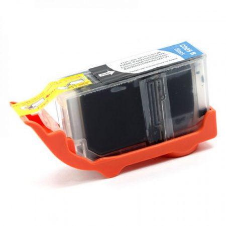 Canon nyomtatóhoz utángyártott PGI-5 BK fekete chipes tintapatron (pgi5)