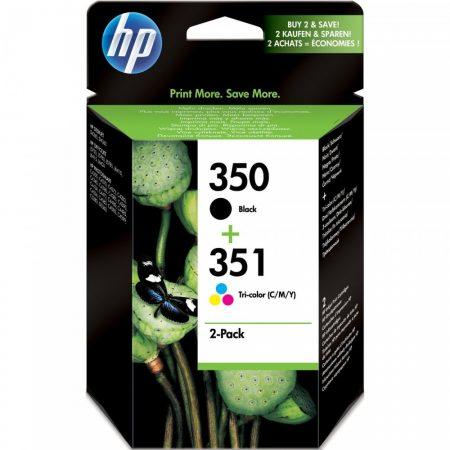 HP SD412EE eredeti  tintapatron multipakk, Nr.350/351