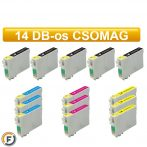 Epson T0445 utángyártott tintapatron csomag, 14 darabos (T0441)