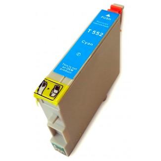 Epson nyomtatóhoz t0552 CIÁN utángyártott tintapatron kb.≈: 480 oldalas TO552