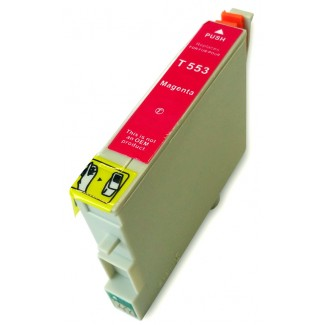 Epson nyomtatóhoz t0553 MAGENTA utángyártott tintapatron kb.≈: 480 oldalas TO553