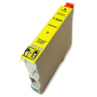 Epson nyomtatóhoz t0554 SÁRGA utángyártott tintapatron kb.≈: 480 oldalas TO554