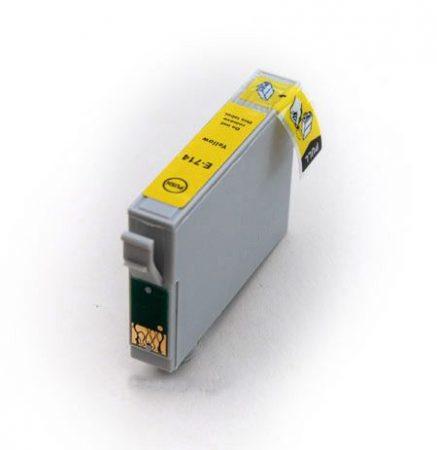 Epson T0714 sárga utángyártott tintapatron