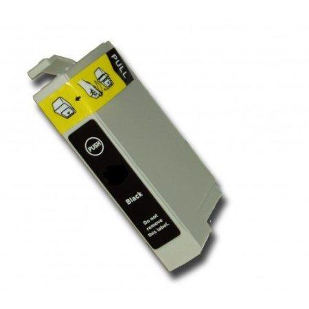 Epson nyomtatóhoz T1281 FEKETE utángyártott tintapatron kb.≈: 300 oldalas