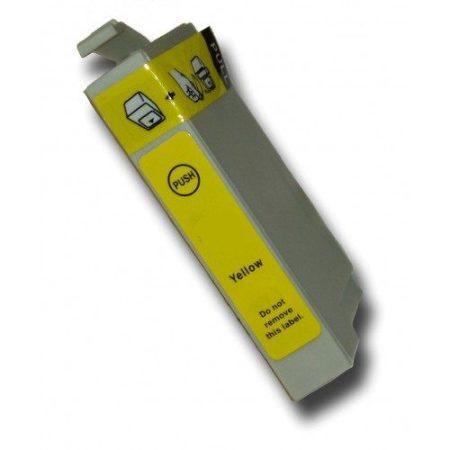 Epson nyomtatóhoz T1284 SÁRGA utángyártott tintapatron kb.≈: 300 oldalas