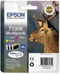 Epson T1306 (c/m/y) multipakk eredeti tintapatron (≈990oldal)