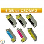 Epson nyomtatóhoz T1815 utángyártott tintapatron csomag, 6 darabos