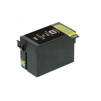 Epson T2711 utángyártott fekete tintapatron  (Nr.27XL)