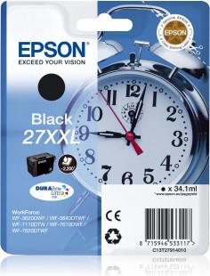 Epson T2791 (Nr. 27XXL) eredeti fekete tintapatron  (≈2200oldal)
