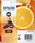 Epson Nr.33XL (T3361) eredeti foto fekete tintapatron, ~400 oldal