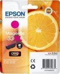 Epson Nr.33XL (T3363) eredeti magenta tintapatron, ~650 oldal