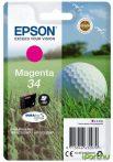 Epson T3463 (Nr. 34) eredeti magenta tintapatron  (≈300 oldal)