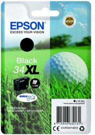 Epson T3471 (Nr. 34XL) eredeti fekete tintapatron  (≈1100 oldal)