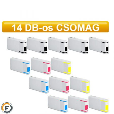 Epson nyomtatóhoz T7015 utángyártott tintapatron csomag, 14 db (T0711)