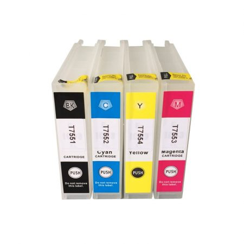 Epson -hoz T7551 utángyártott fekete tintapatron, ~5000 oldal