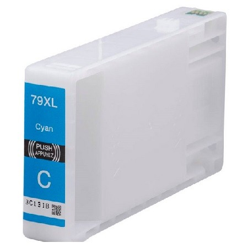 Epson -hoz T7902 XL cián utángyártott tintapatron (≈2000 oldal)