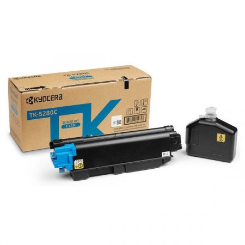 Kyocera TK-5280C eredeti cián toner, ~11000 oldal