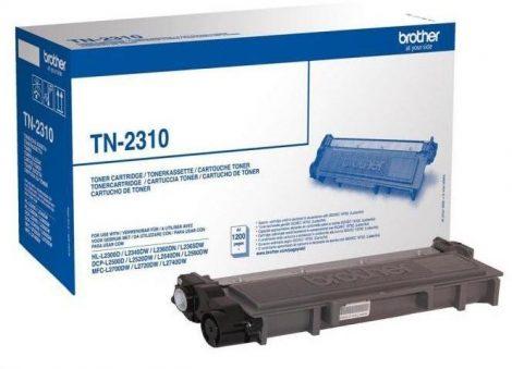 Brother TN-2310 eredeti fekete toner (≈1200 oldal)