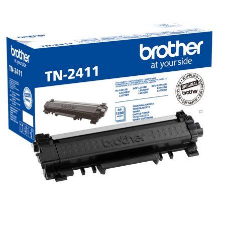 Brother TN-2411 eredeti fekete toner, 1200 oldal, (tn2411)