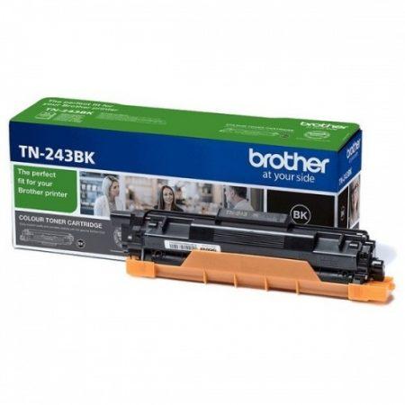 Brother TN-243Bk (fekete) eredeti toner, ~1000 oldal