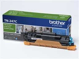 Brother TN-247C (cián) eredeti toner, ~2300 oldal