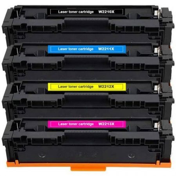 HP -hez W2212X (207X) sárga utángyártott toner (≈2450 oldal)